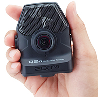 Zoom Q2n Video Camera, handheld