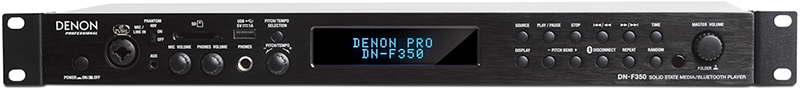 Denon DN-F350 Media Player, front panel