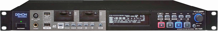 Denon DN-700R Network Solid State Sound Recorder