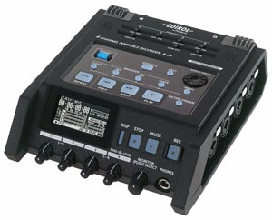 Roland Edirol R-44 4-Channel Portable Sound Recorder