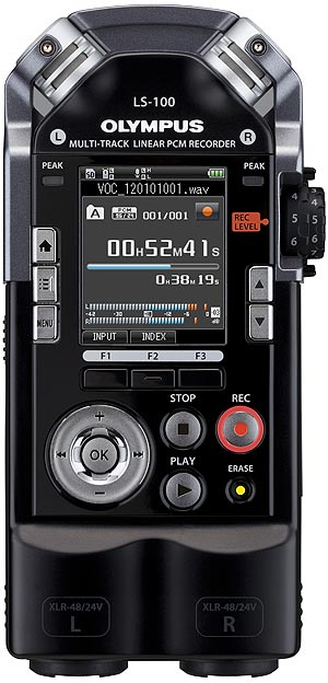 Olympus LS-100 Handheld Portable Audio Recorder
