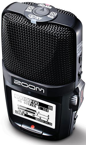 Zoom H2n Portable Stereo Audio Recorder