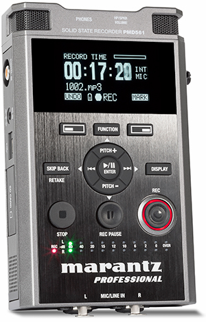 Marantz PMD561 Portable Solid State Sound Recorder