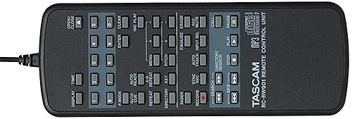 Tascam RC-RW901 Wired Remote Control