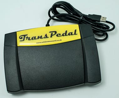 Solid State Sound TransPedal-2015 Transcription Footpedal
