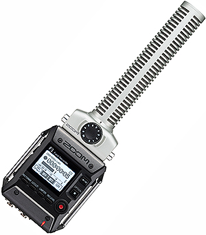 Zoom F1-SP Recorder with SGH-6 Shotgun Microphone Module
