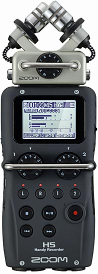 Zoom H5 4-Track Portable Audio Recorder
