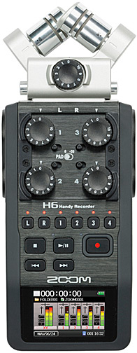 Zoom H6 6-Track DLSLR Audio Recorder
