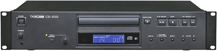 Tascam CD-200 Professional CD Player